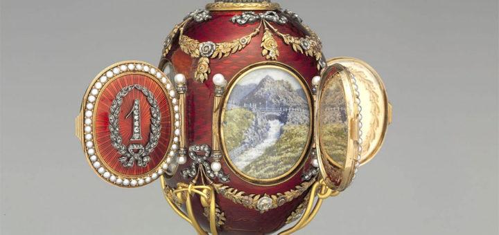 ファベルジェの卵 コーカサス (Caucasus Faberge Egg)