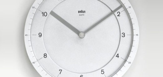 ブラウン 時計 ABW 41 domodisque (alu)