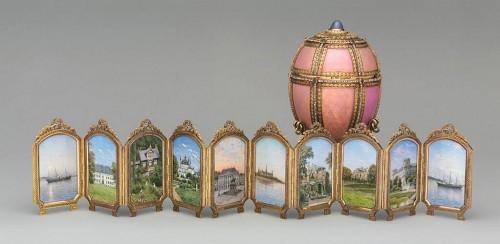 ファベルジェの卵 デンマークの宮殿 ( Danish Palaces Egg ) 1890