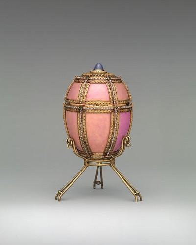 ファベルジェの卵 デンマークの宮殿 1890