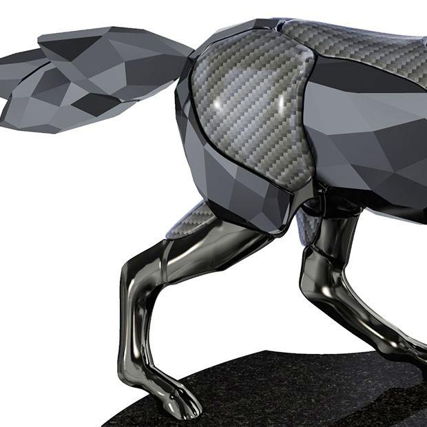 スワロフスキー フィギュリン The Black Stallion