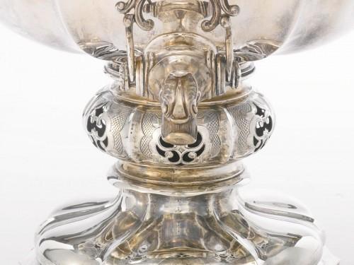 ロシア製 シルバー サモワール 1869 ALEXANDER KORDES, ST. PETERSBURG