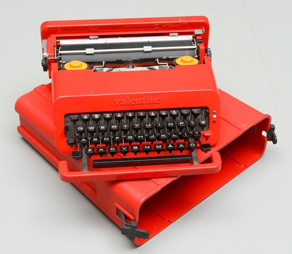 オリベッティ タイプライター バレンタイン