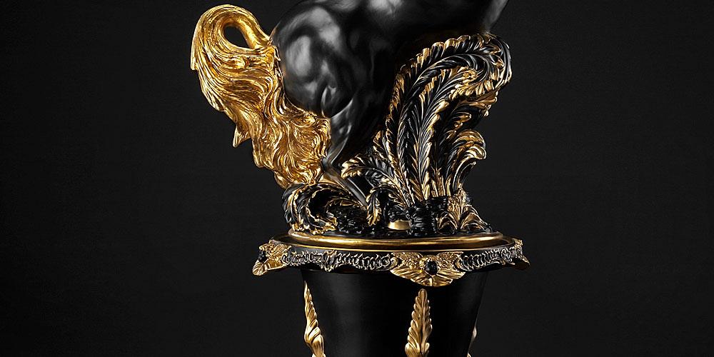 Ceramiche Trea フィギュリン 雄馬 ( Ceramiche Trea figurine Stallion )