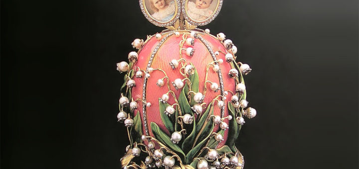 ファベルジェの卵 スズラン 1898 ( Fabergé Imperial Eggs Lilies of the Valley 1898 )