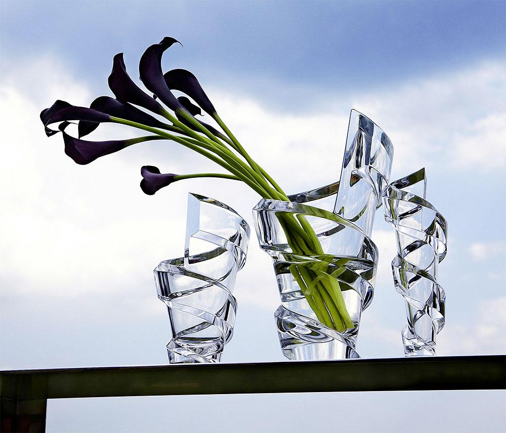バカラ スパイラル フラワーベース ( Baccarat Spirale Bud Flower Vase )