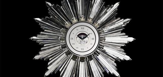 バカラ 時計 サン クロック ( Baccarat The Sun Clock )