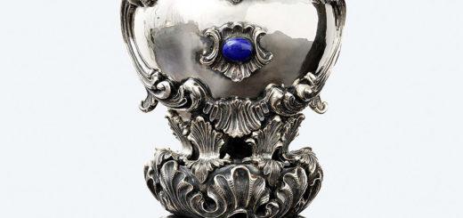 ブチェラッティ 銀製 花瓶 ロカイユ ( Buccellati Silver Rocaille Vase )