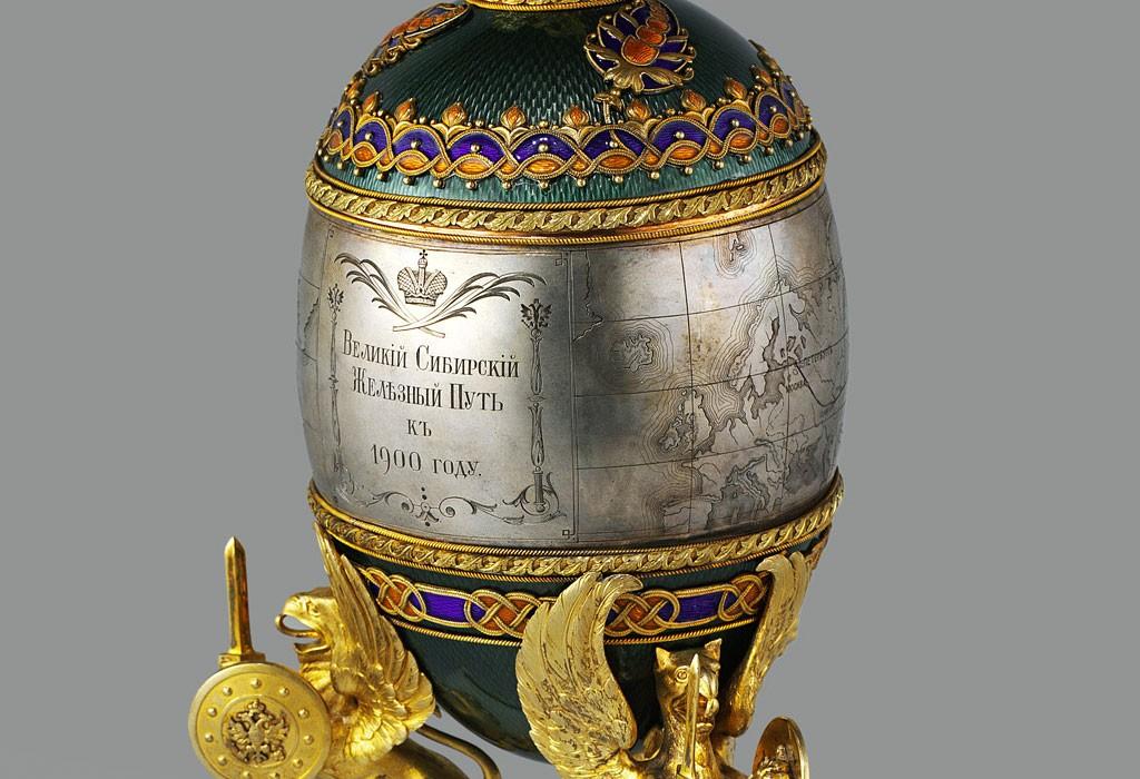 ファベルジェの卵 シベリア横断鉄道 1900 ( Fabergé Imperial Eggs Trans-Siberian Railway 1900 )