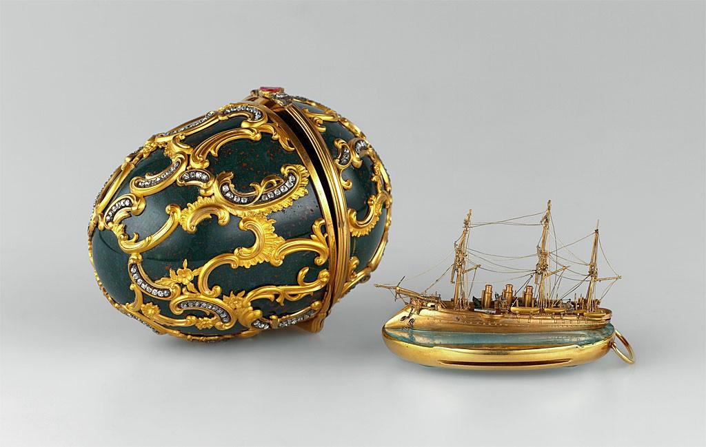 ファベルジェの卵 巡洋艦アゾフ号 1891 ( Fabergé Imperial Eggs Memory of Azov 1891 )