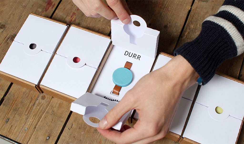 Skrekkøgle 腕時計 デュール ( Durr )
