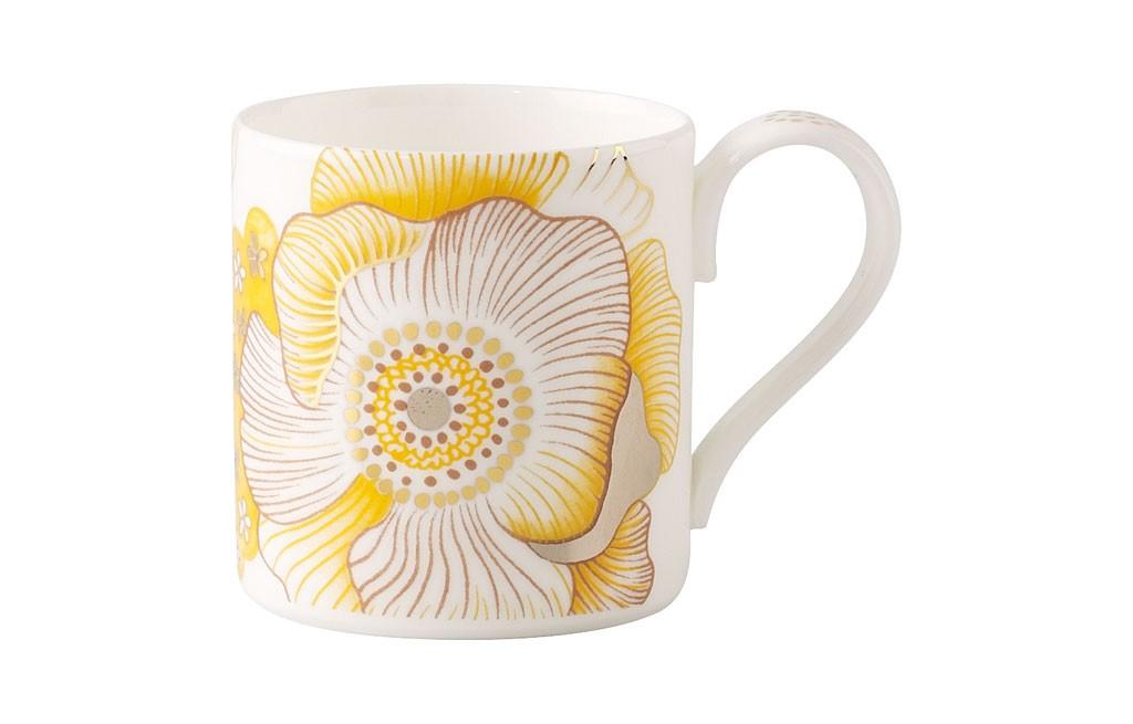 ビレロイ&ボッホ モダングレース ピオニー コーヒー カップ&ソーサー ( Villeroy & Boch Modern Grace Peonia Coffee Cup & Saucer )