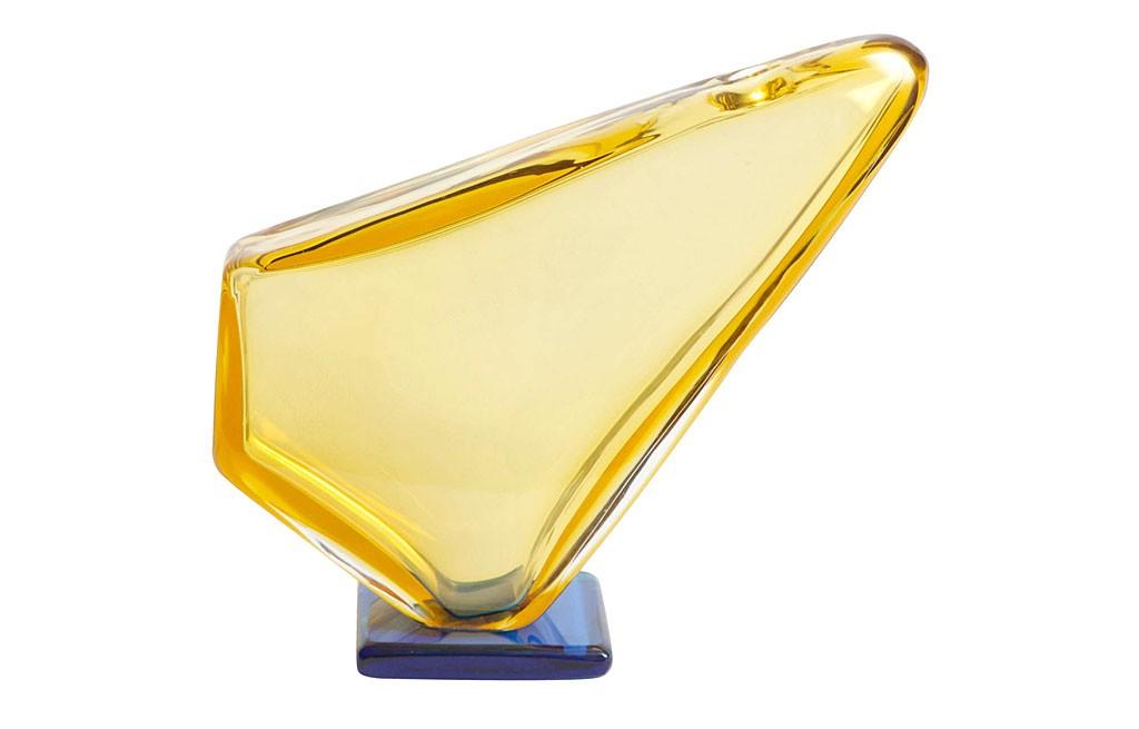 ヴェネチアガラス ナポレオーネ・マルティヌッツィ & アルフレッド・バルビーニ 花瓶 ( Venetian Glass Napoleone Martinuzzi & Alfredo Barbini Vase )