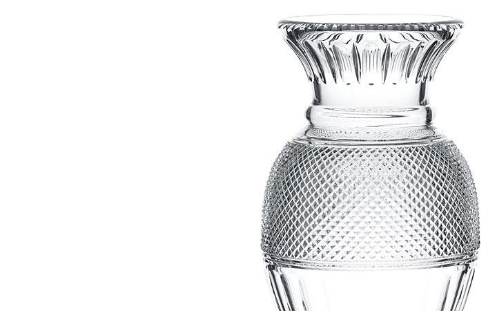 バカラ 花瓶 ディアマン バラスターベース ( Baccarat Diamant Balustre Vase )