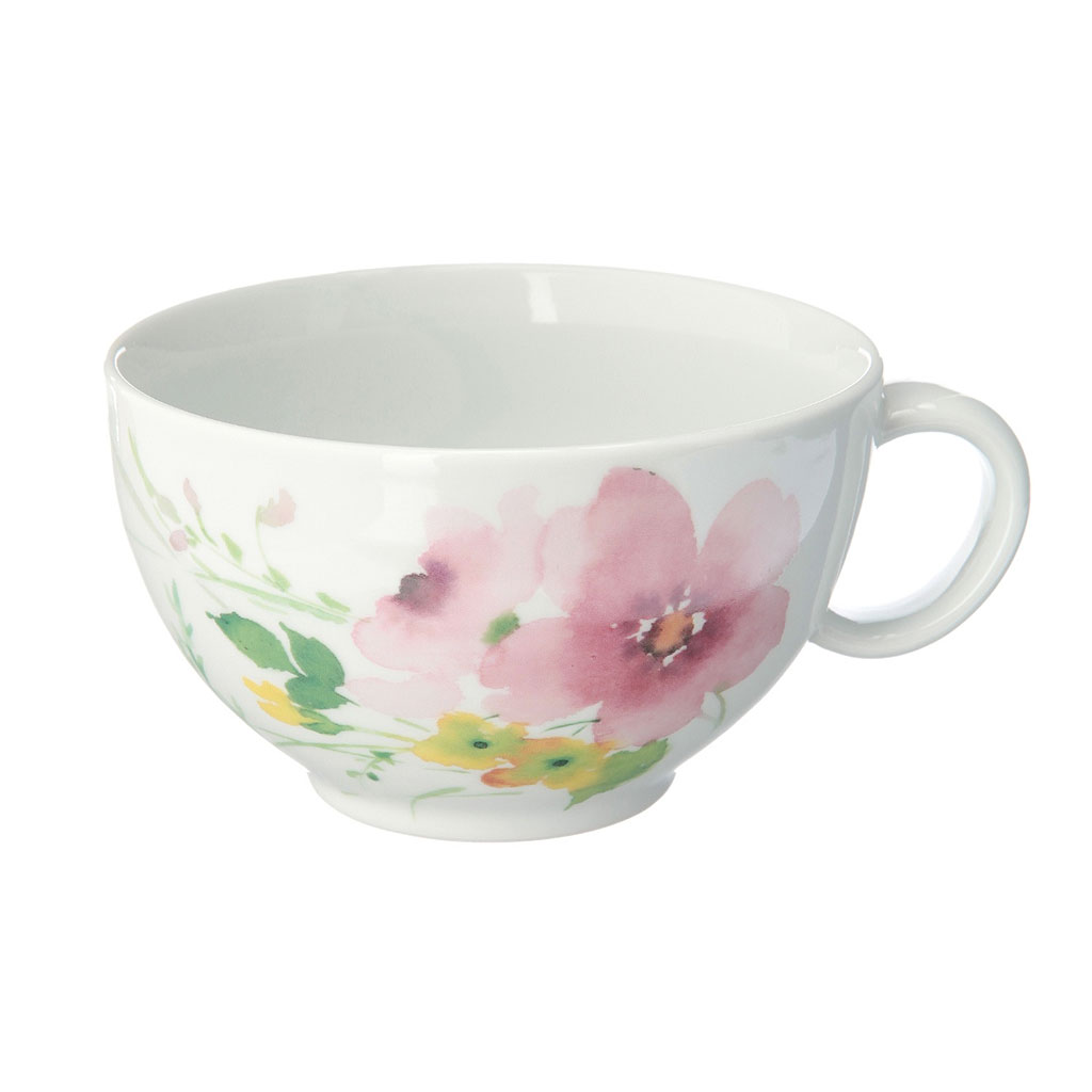 有田焼 花かれん ラテ&スープカップ