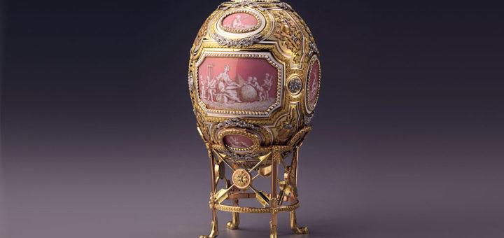 ファベルジェの卵 グリザイユ 1914 ( Fabergé Imperial Eggs Grisaille 1914 )