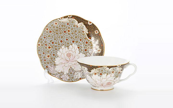 ウェッジウッド デイジー ブルー ティーカップ&ソーサー ( Wedgwood Daisy Blue Teacup & Saucer )