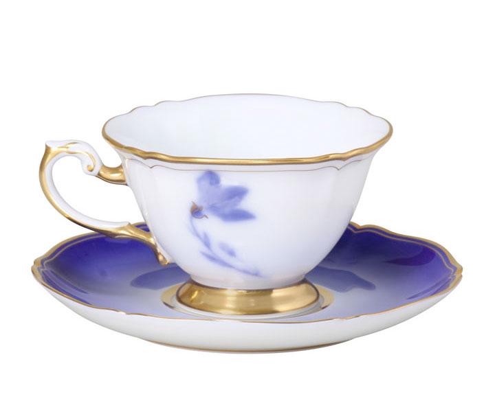 大倉陶園 碗皿コレクション 「姫君の雅/桔梗」