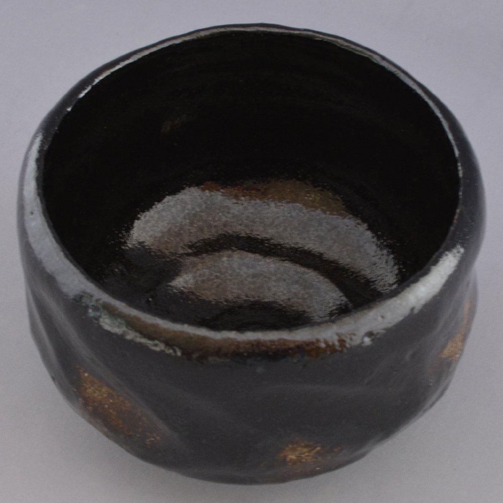 京焼・清水焼 松楽窯 上抹茶碗 黒楽