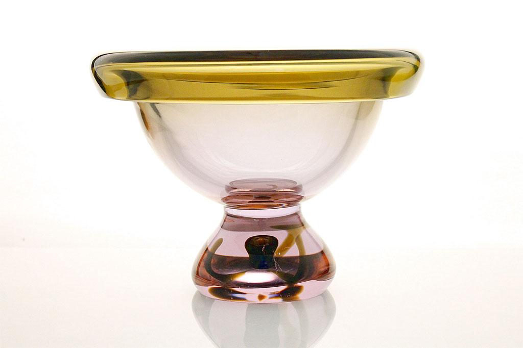 ヴェネチアガラス アントニオ・ダ・ロス ボウル 「センターピース」 ( Venetian Glass Antonio Da Ros Bowl Centerpiece )