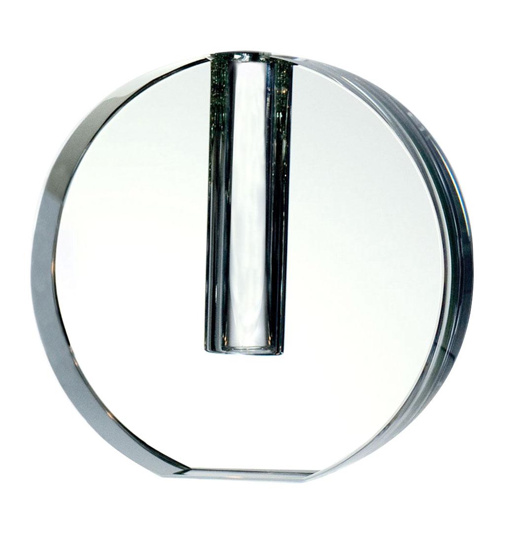 ボヘミアガラス モーゼル 円形 バッド ベース ( Bohemian Glass Moser Circular Bud Vase )