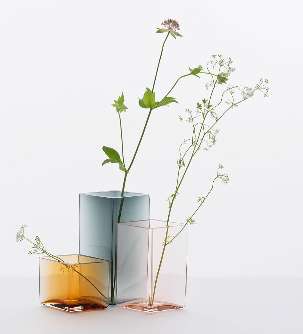 イッタラ Ruutu 花瓶 ( Iittala Ruutu Vase )