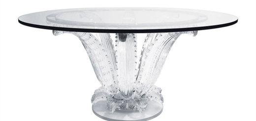 ラリック テーブル カクチュス ( Lalique Cactus Table )