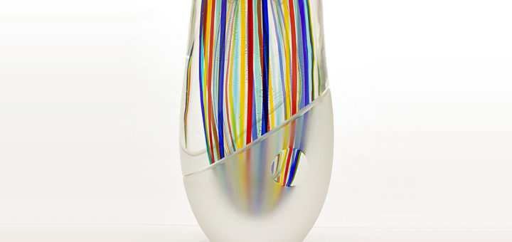 "ヴェネチアガラス ロマーノ・ドナ 花瓶 Incredibly Beautiful Unique Artwork ( Venetian Glass Romano Dona Vase ""Incredibly Beautiful Unique Artwork"" )"