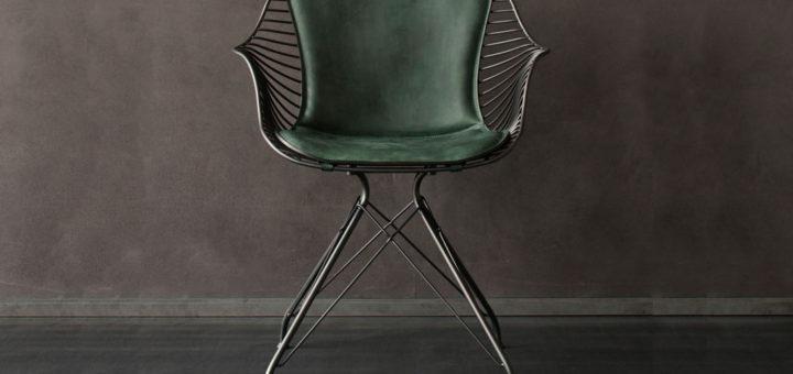 オーバーガード & ディルマン ワイヤー ダイニング チェア ( Overgaard & Dyrman Wire Dining Chair )