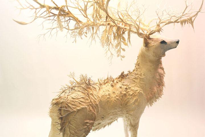 Ellen Jewett 動物の彫刻