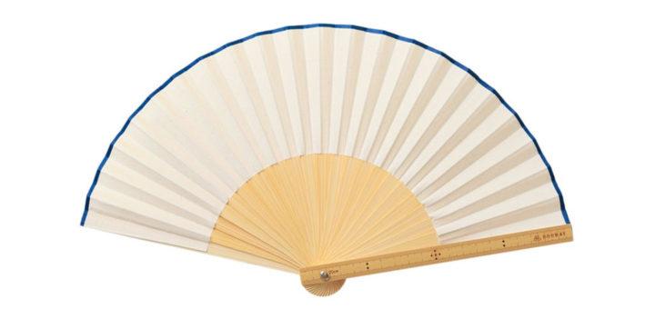 西川庄六商店 竹の定規扇子