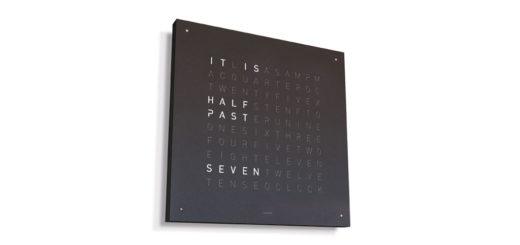 ドイツ発 デザイン時計 「QLOCKTWO(クロックツー)」