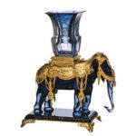 バカラ 花瓶ホルダー メモワール・ド・バカラ 象