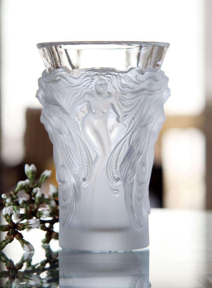 ラリック 花瓶 ファンタジア ( Lalique Vase Fantasia )