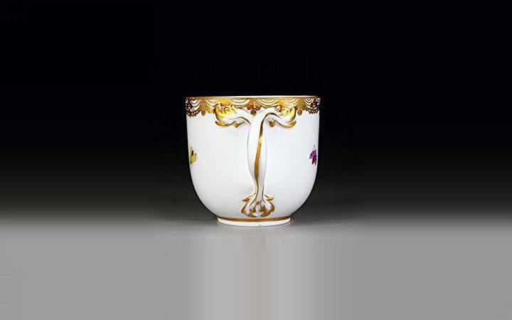 マイセン エキゾチックバード カップ プレート トリオ ( Meissen Exotic Bird Cup Plate Trio )