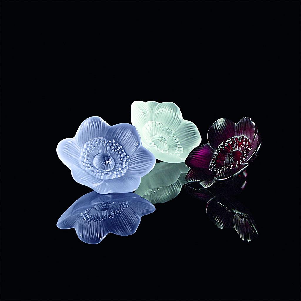ラリック フラワー彫刻 アネモネ ( Lalique Anemone Flower Sculpture )