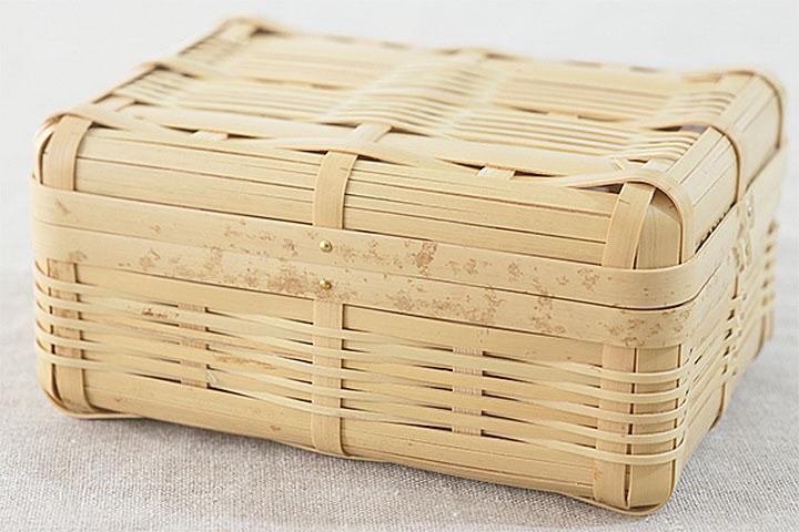 竹の弁当箱