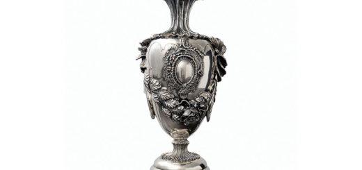 ブチェラッティ 銀製 花瓶 デラ・ヴィットリア ( Buccellati Silver Della Vittoria Vase )