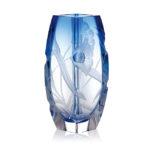 ボヘミアガラス モーゼル 花瓶 ブロッサム 2794