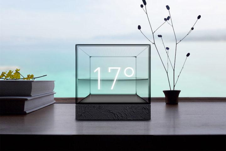 未来の水槽 「 Weather Cube 」