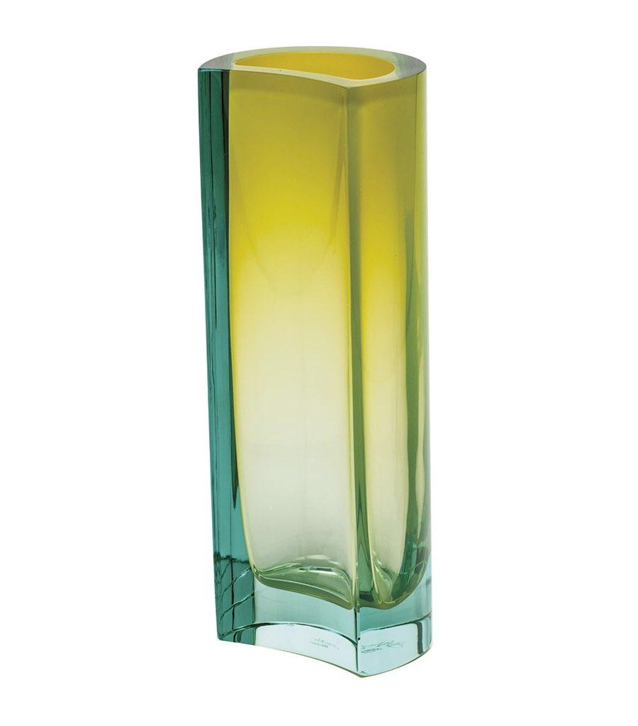 ボヘミアガラス モーゼル 花瓶 リオ ( Bohemian Glass Moser Rio Hand Cut Vase )