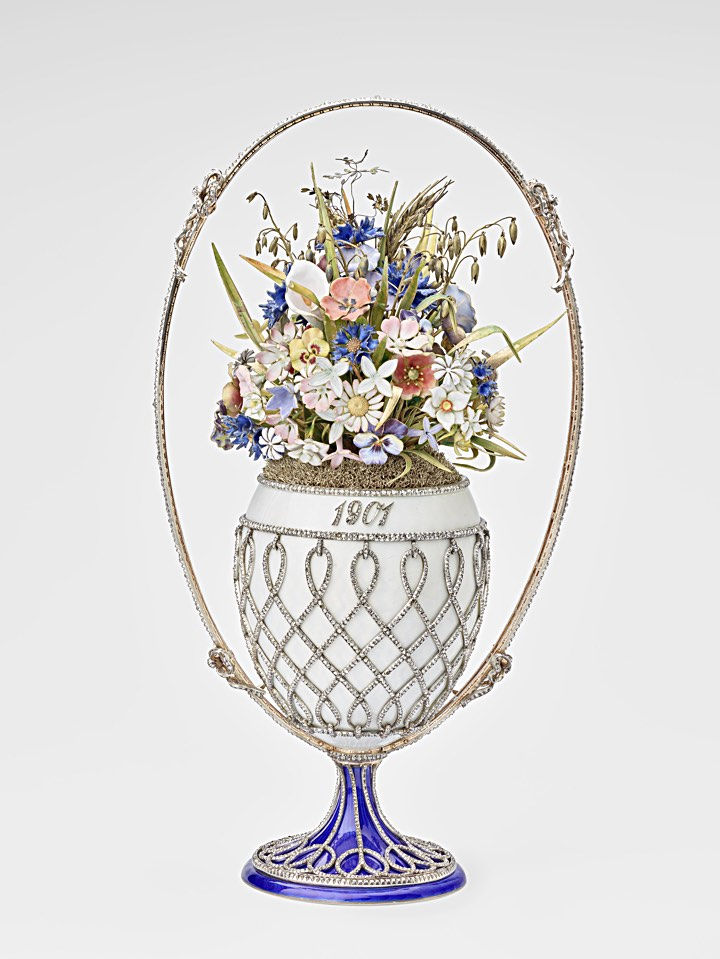 ファベルジェの卵 花籠 1901 ( Fabergé Imperial Eggs Basket Of Flowers )