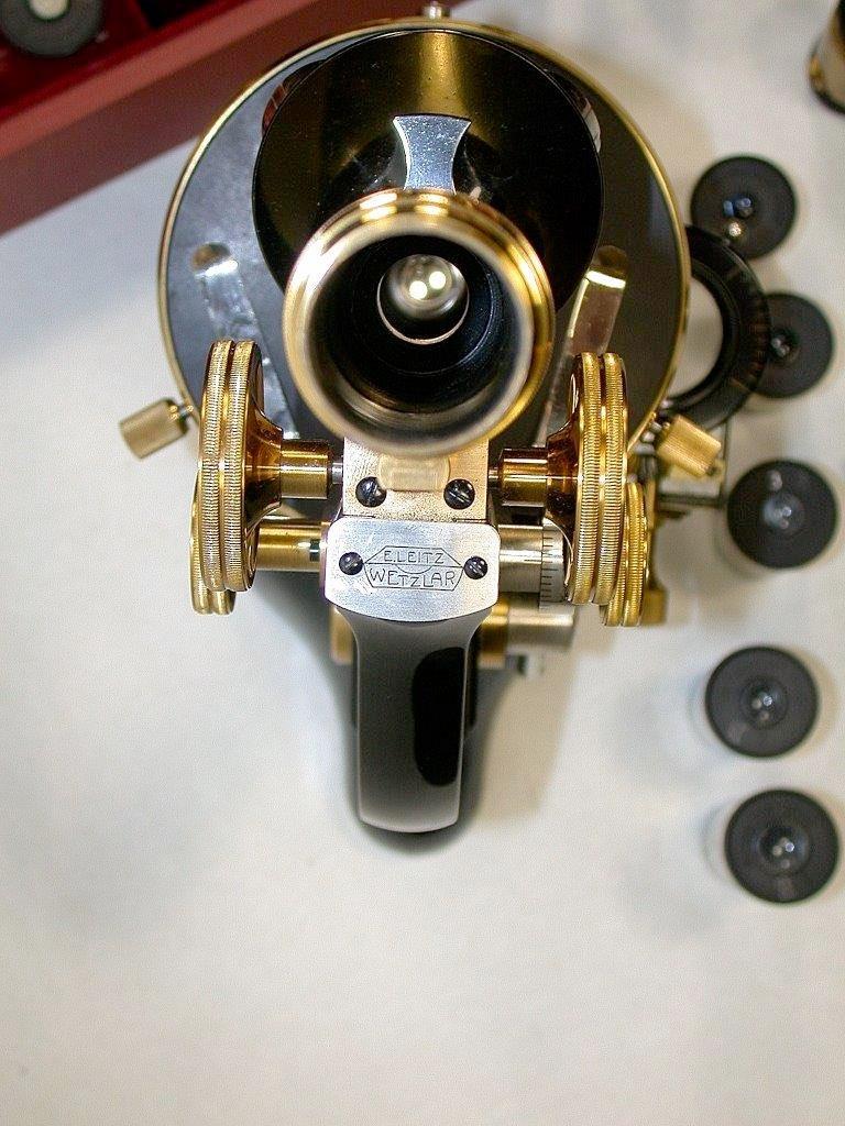 エルンスト・ライツ・ウェツラー クラシック顕微鏡 ( Ernst Leitz Wetzlar Classic Microscope )