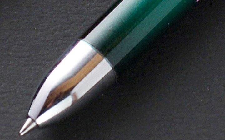 漆器 玉虫塗 複合ボールペン 蒔絵 萩