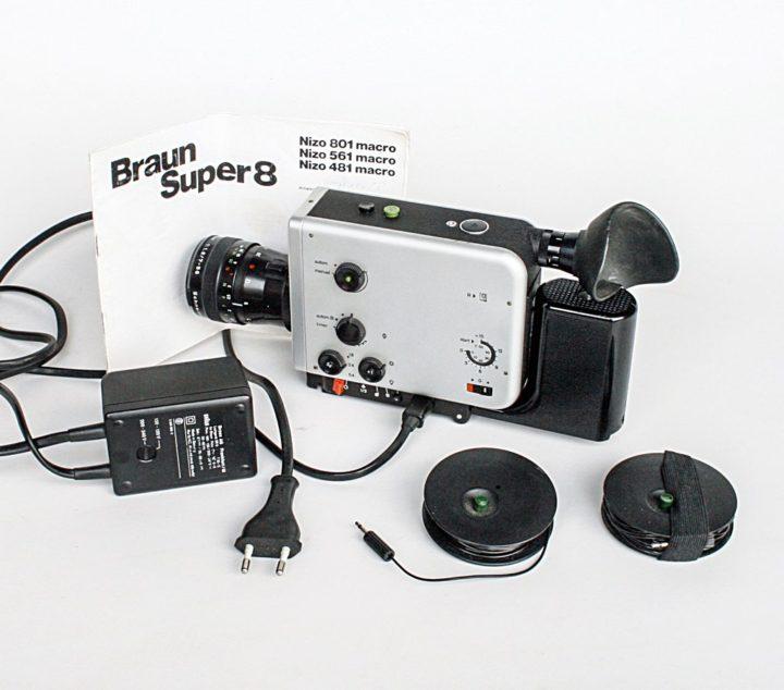 ブラウン ニゾ スーパー 8カメラ 561 ( Braun Nizo Super 8 Camera 561 )