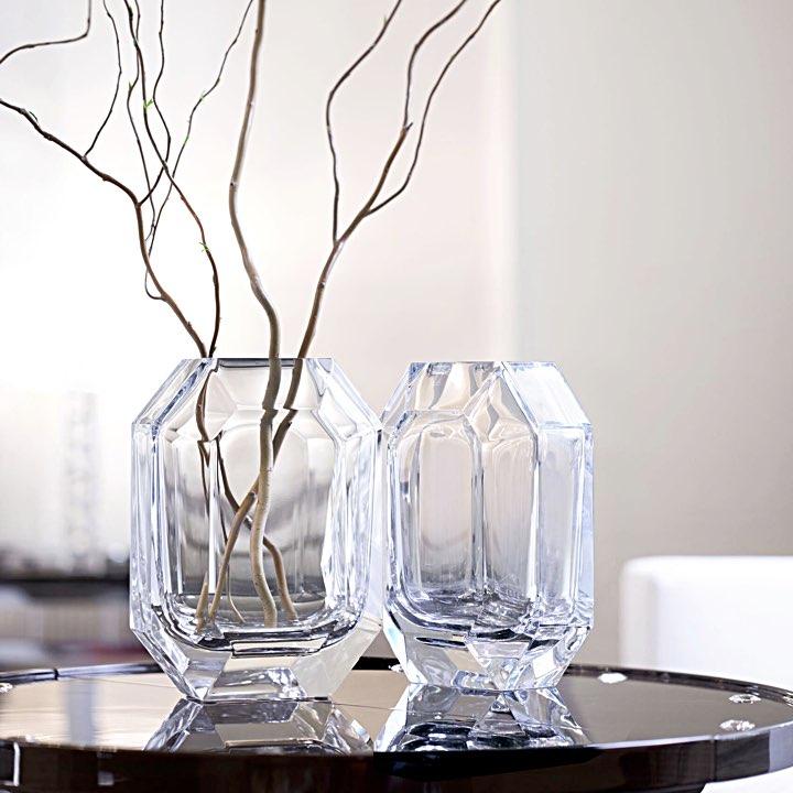 バカラ オクトゴン ベース ( Baccarat Octagon Vase )