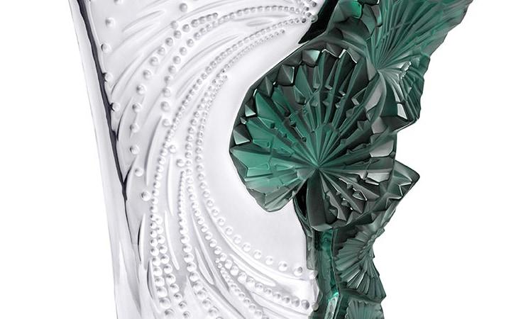 ラリック パルメ 花瓶 ( Lalique Palme Vase )