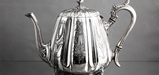 19世紀末 W.Tyler社製 シルバープレート 紅茶・珈琲ポット