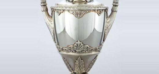 ブチェラッティ 銀製 花瓶 EMPIREパターン