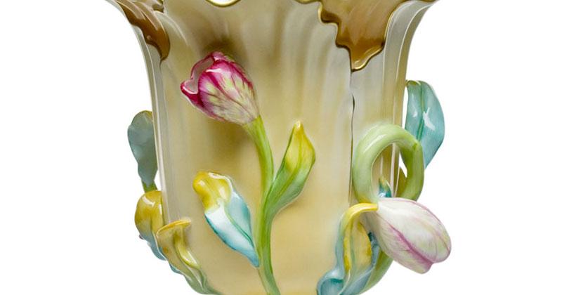 ヘレンド 花瓶 チューリップ ( Herend Tulip Vase )